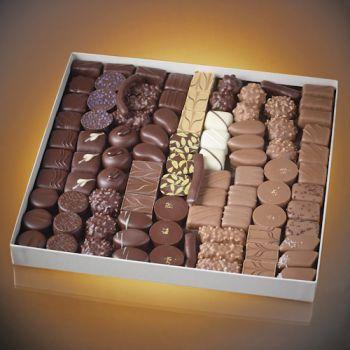 COFFRET DE BONBONS CHOCOLAT 1 KG