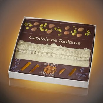 Chocolate picture of Toulouse Capitole - size 3