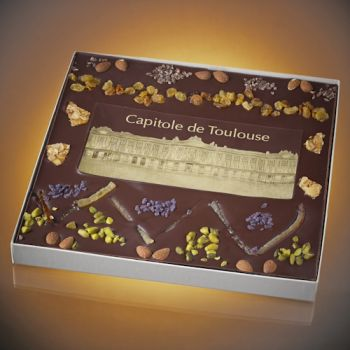 Chocolate picture of Toulouse Capitole - size 5