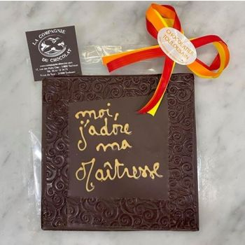 Moi, j'adore ma maîtresse chocolat noir