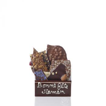 Bouquet de chocolats assorties-170 grs Bonne fête Maman