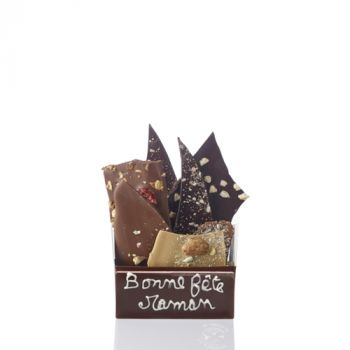 Bouquet de chocolats assorties-205 grs Bonne fête Maman