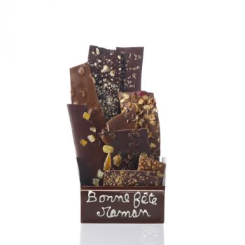 Bouquet de chocolats assorties-275 grs Bonne fête Maman