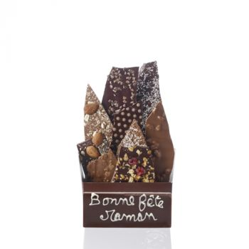 Bouquet de chocolats assorties-340 grs Bonne fête Maman