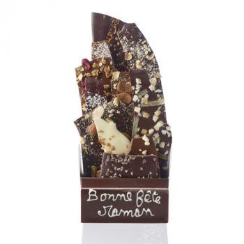 Bouquet de chocolats assorties-425 grs Bonne fête Maman