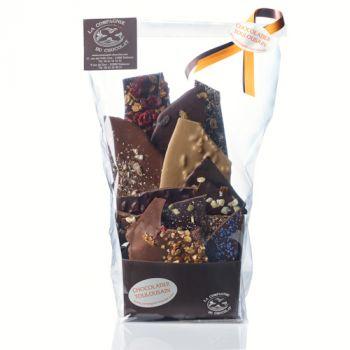 Composition de feuilles de chocolats - 425 grs