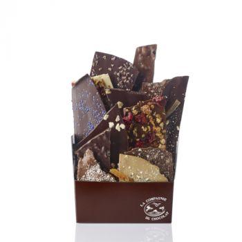 Composition de feuilles de chocolats - 680 grs