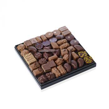 COFFRET DE BONBONS CHOCOLAT 550 GRS