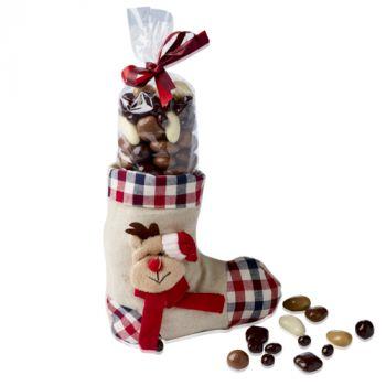 Chaussette Fruits secs chocolatés 200g
