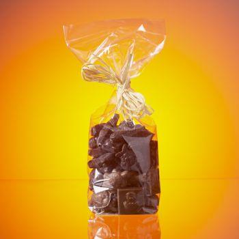 FRITURE DE PAQUES EN CHOCOLAT LAIT ET NOIR 300 GRS