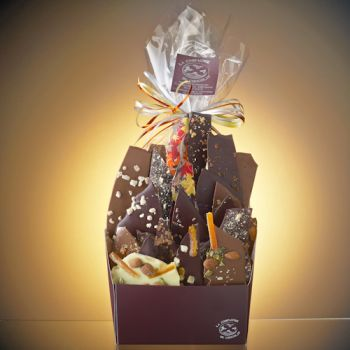 Composition de feuilles de chocolats assorties- 1 KG