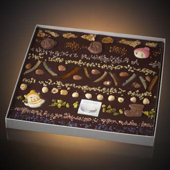 Tableau de Noël chocolat noir T5