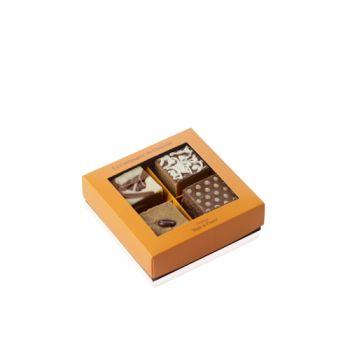 Boite de 4 fudges chocolat au lait - 140 grs
