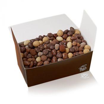 Fruits secs chocolatés boite 1kg