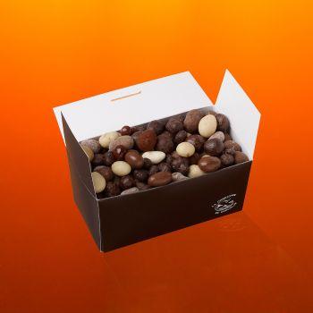 Fruits secs chocolatés boite 400g