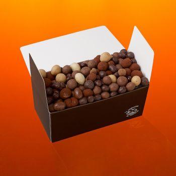Fruits secs chocolatés boite 700g