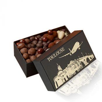 Coffret Avion Fruits secs chocolatés 270 grs