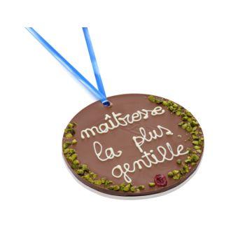 Grande Médaille Maîtresse la plus gentille chocolat lait
