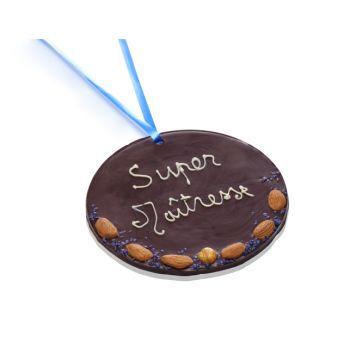 Grande Médaille Super Maîtresse chocolat noir