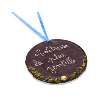 Grande Médaille Maîtresse la plus gentille chocolat noir
