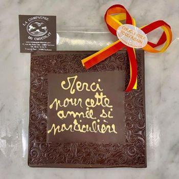 Merci pour cette année si particulière chocolat noir