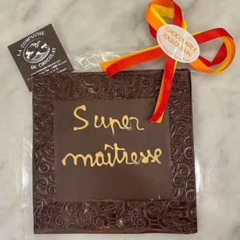 SUPER maîtresse chocolat noir