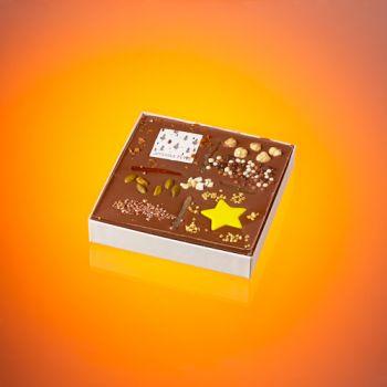 Tableau de noël chocolat lait T2