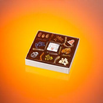 Tableau de Noël chocolat noir T2