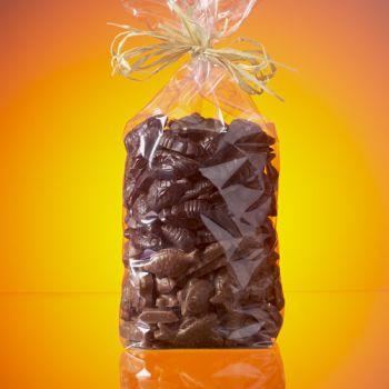 SACHET FRITURE DE PAQUES EN CHOCOLAT NOIR ET LAIT 1 KG