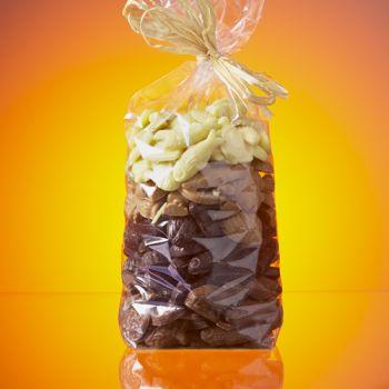 SACHET FRITURE DE PAQUES EN CHOCOLAT NOIR, LAIT ET BLANC 1 KG