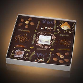 Tableau de Noël chocolat noir T3