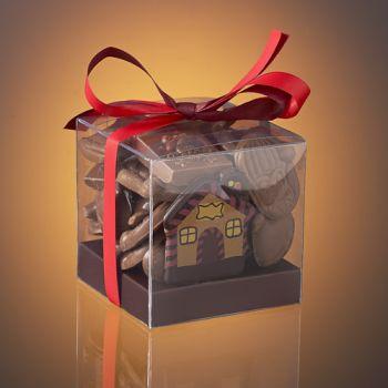 BOX OF CHOCOLATE CHRISTMAST TREATS - 160g