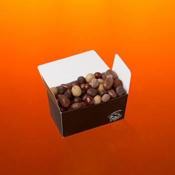 Fruits secs chocolatés boite 210g