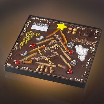 Sapin de Noël chocolat noir T5