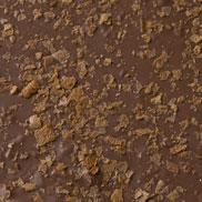 Chocolat au lait à la crêpe croustillante