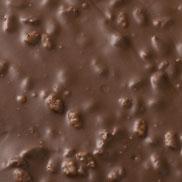 Chocolat au lait au riz soufflé