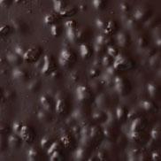 Chocolat noir au nougat